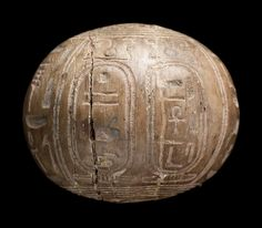 Inscribed steatite ball. Detail. Nubian. Napatan Period. Reign of Piankhy (Piye). 743–712 B.C. | The Museum of Fine Arts, Boston