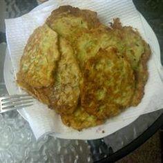 The Best Zucchini Fritters Ever Allrecipes.com