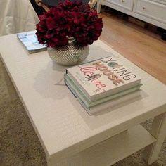 Before & After: Noelle's Painted Ikea Lack Hack | Lack Table ... Haecker Lack Matt Schwarz