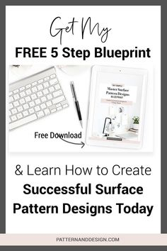 Follow my easy 5 step formula so you can create successful pattern designs (every single day) and build your own textile design or surface pattern design business. Take your art, illustrations and drawings and turn them into successful pattern repeats. #designtips, #patterndesign #printdesign #designresources Textile Design, Fabric Design, Print Design, Kids Patterns, Floral Patterns, Pattern Designs, Surface Pattern Design, Inspiration For Kids, Design Inspiration
