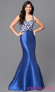 Mermaid Prom Dress with Embellished Bodice