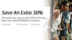 #Reebok : Extended Through Today, Extra 30% Off Markdowns + #Free Shipping .  Shop from the #USA through #iShopinternational.com