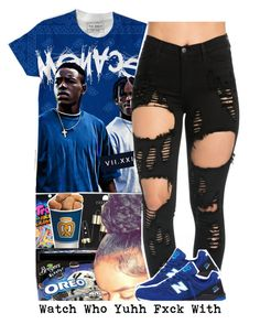 """🤔"" by loyalnene ❤ liked on Polyvore featuring Topshop and New Balance"