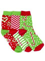 Smelly Candy Cane Ankle Socks
