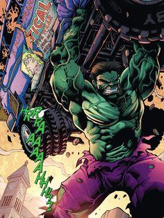 Hulk By Bong Dazo... Hulk Marvel, Marvel Art, Marvel Heroes, Marvel Comics, Avengers, Comic Book Characters, Comic Books Art, Comic Art, Marvel Characters
