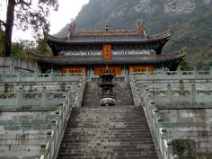 Site #705: Ancient Building Complex in the Wudang Mountains (China)