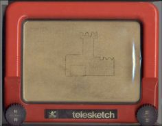 Telesketch.Nunca pude hacer una línea recta.... 1970s Childhood, Childhood Memories, Retro Toys, Vintage Toys, Kool Kids, Retro Images, Old Games, Do You Remember, Classic Tv
