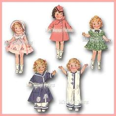 shirley temple sewing patterns - Google Search