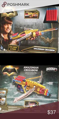 DC Comics Batman vs. Superman Dawn Of Justice New - DC Comics Batman vs. Superman Dawn Of Justice Wonder Woman Amazonian Crossbow - DC Comics Batman V Superman Dawn Of Justice Boomco Amazonian Crossbow Mattel Other