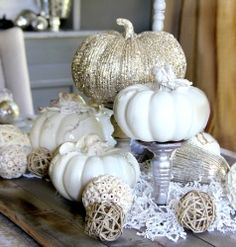 Fall decorating mini-room makeover with Kirkland's