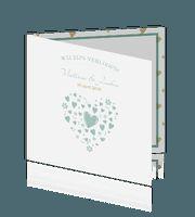 Mooie verlovingskaart met prachtige details!