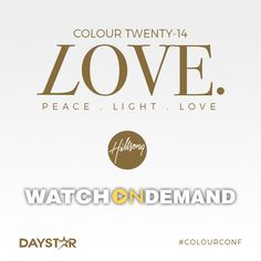 Hillsong Colour Conference 2014 [Daystar.com]