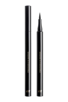 A silky black liquid eyeliner with a long-lasting, smudgeproof formula and rich colour payoff. The precision felt tip enables a multitude of looks from a sl