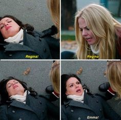 """This was so well played by the writers. #SwanQueen >>> omg and the way regina says """"emma"""" like I could die"""