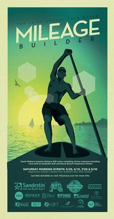 Annual YOLO Board Mileage Builder at Sandestin Starting May 25 - Beach Resorts, Sup Racing, Boat Illustration, Sup Boards, Identity, Sup Yoga, Racing Events, Sup Surf, Poster