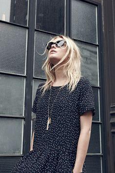 print dress | madewell-sezane
