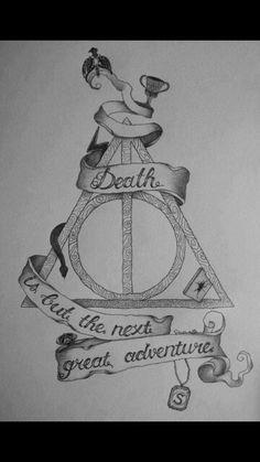 Harry Potter Tattoo Ideas #HarryPotter #Hallows #Horcrux