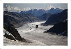 Glaciar Jungfrau (Suiza)