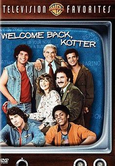 Welcome Back Kotter: TV Favorites-Compilation (DVD) by Warner Home Video 80 Tv Shows, Old Shows, Great Tv Shows, My Childhood Memories, Great Memories, Childhood Toys, Welcome Back Kotter, Vintage Tv, Vintage Games