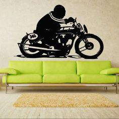 Mermaid Wall Decal Art Decor Decals Sticker Tribal Bike Moto Motorbike Jump Motorcycle Motocross Racing Garage Interior (M808) DecorWallDecals http://www.amazon.com/dp/B00HDFGPU4/ref=cm_sw_r_pi_dp_c3o2ub1QBWA7N