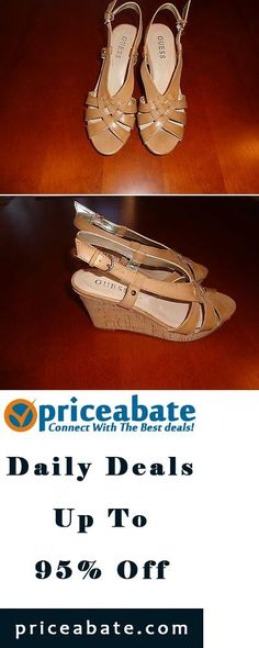 #priceabatedeals Guess heels   Brand New size 6 brown   - Buy This Item Now For Only: $5.05