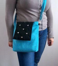 MESSENGER BAG shopping bagschoice of colorshandbag by ILAJLA, $30.00