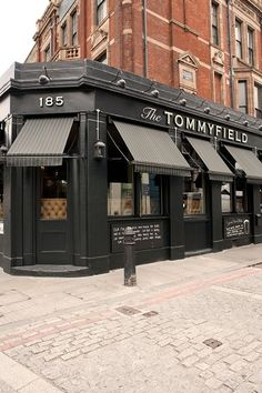 The Tommyfield | Kennington, London | The opening of The Tommyfield marks the 150th anniversary of the first British chip shop at Tommyfield market in Oldham.