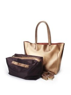 a6112ad56700 Golden Casual Medium Cowhide Leather Tote