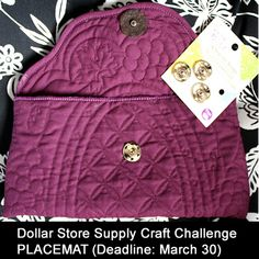 Dollar Store Crafts » Blog Archive » Supply Challenge: Placemats