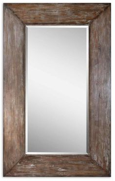 ad1367bbda12 More ideas. Uttermost 9505 Langford Large Mirror Antique Hickory Home Decor  Mirrors ...