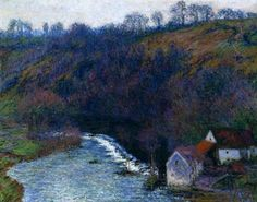 The Mill At Vervy - Claude Monet