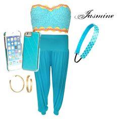 """Modern Day Jasmine"" by minnie-neve on Polyvore"