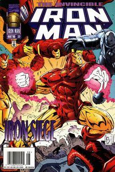 Iron Man # 331 by Joe Bennett & Ralph Cabrera