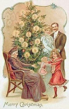Victorian Merry Christmas.