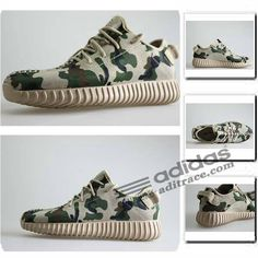 1ec9b22096f57 Adidas Yeezy Boost 350 Classique Chaussure Homme Camouflage Grise  aditrace