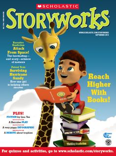 Scholastic StoryWorks is looking to be named Periodical of the Year in Grades 3-6.