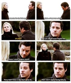 <3 aawww... Heart officially melted. Gosh I want Captain Swan to happen but I also don't because Neal