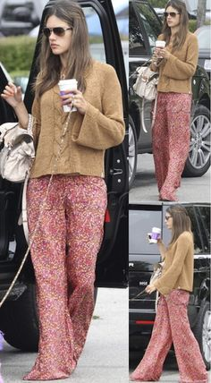 Alessandra Ambrosio in the Tolani Gaucho Pant.  GET YOURS: http://www.revolveclothing.com/DisplayProduct.jsp?product=TOLA-WP5=