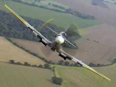 """Not a view a German pilot would like to see...""""Spitfire"""""""