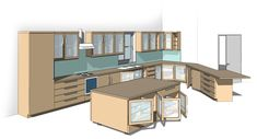 All-in-One Revit Kitchen Family