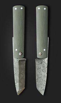 Knife design by Ivan Campos. Photo via Pivot & Tang