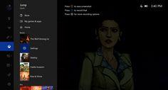 Un pequeño vistazo a la nueva guía de Xbox One