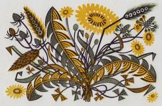 Linocuts, wood engravings, screen prints and watercolours by Angie Lewin