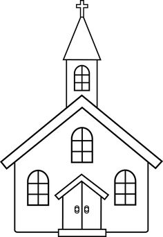 church line art