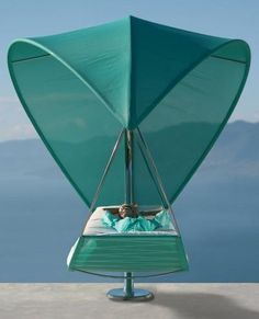 The Wave Hammock. The cost is a mere $23,000, with no base or cushions. Those are probably pretty cheap, tho. Lol.