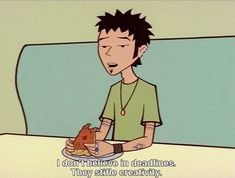 "Never be afraid to live by your own rules: | The 16 Wisest Things Trent Lane Taught Us On ""Daria"""