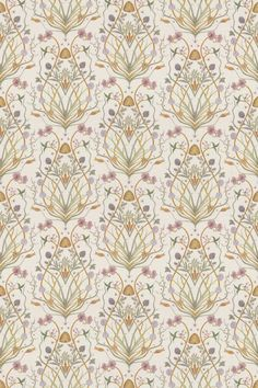Potagerie by The Chateau by Angel Strawbridge - Cream - Fabric : Wallpaper Direct
