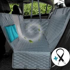UPGRADE MESH WINDOW - Prodigen dog seat cover with mesh visual window means you can check the pet's behavior and its mood at any time, protect your dog from uneasy feeling. Moreover, the mesh window of the dog car seat cover allows the air flow to.