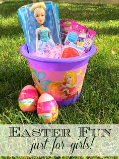 Easter egg hunt ideas JUST for girls. Fun Easter jokes for kids with a free printable too!