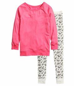 32eb1109674 Pajamas in Pink Size  L XL Cotton Sleepwear